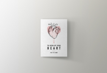 Open Heart book